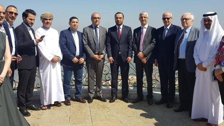 Minister of Culture toured with the Arab ambassadors in Aley to encourage tourism